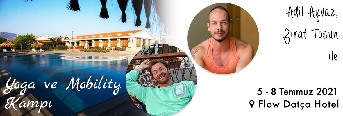 Adil ve Fırat ile Yoga ve Mobility Kampı