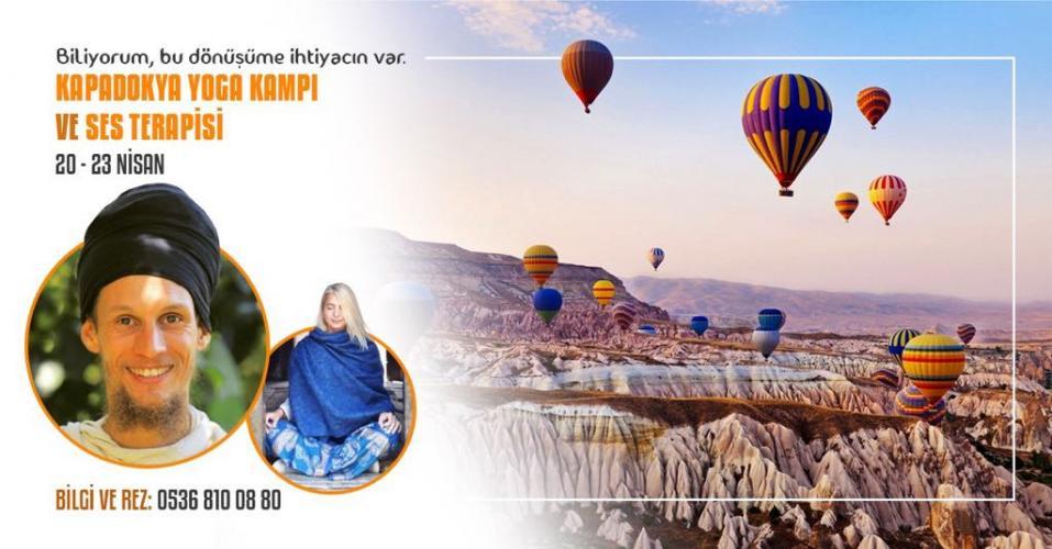 Yoga ve Ses Terapisi Kampı - Kapadokya