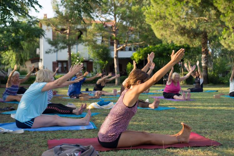 Yoga ve Su Sporları Tatili