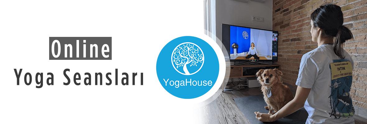 YogaHouse Online Yoga Seansları Devam Ediyor!