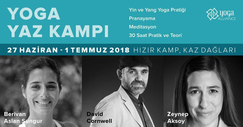 Zeynep, Berivan ve David ile Yoga Yaz Kampı