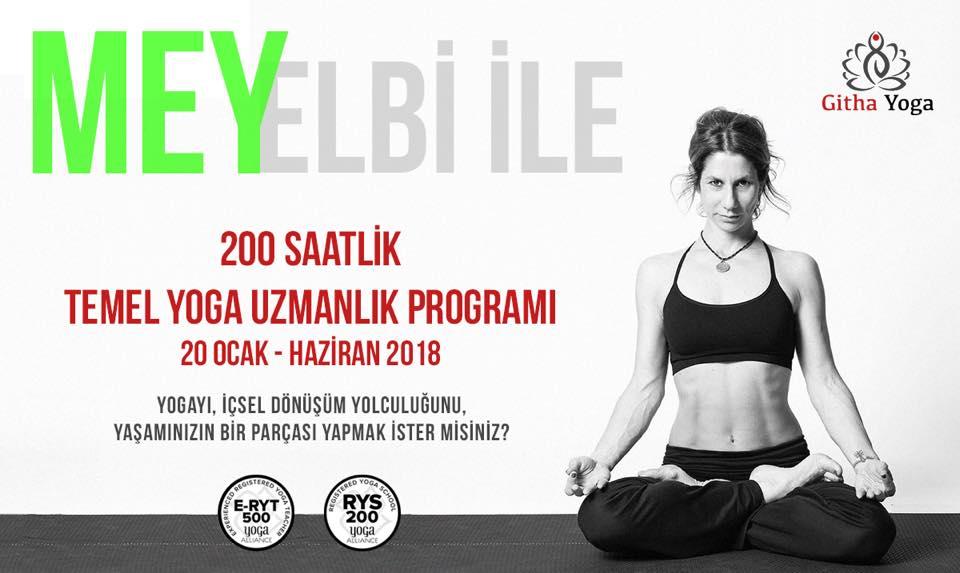 Mey Elbi Ile 200 Saatlik Temel Yoga Uzmanlık Programı Mey Elbi