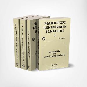 Marksizm-Leninizmin İlkeleri Seti (4 Kitap)