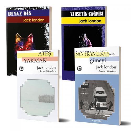 Jack London Seti (4 Kitap)   Jack LONDON   Yar Yayınları