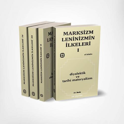 Marksizm-Leninizmin İlkeleri Seti (4 Kitap)   Otto Wille Kuusinen   Ya