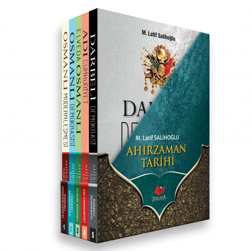 Ahirzaman Tarihi Seti 5 Cilt- 7914 Latif Salihoğlu