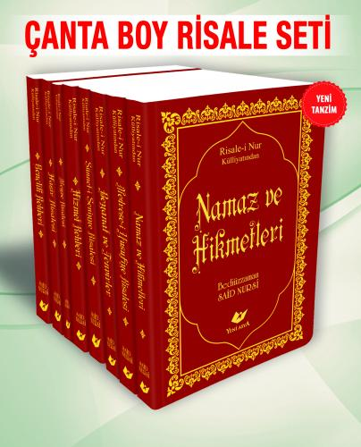 Çanta Boy Risale Seti- 8386 (11 Kitap) Bediüzzaman Said Nursi