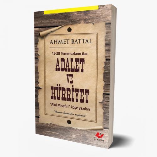 Adalet ve Hürriyet- 8799 Ahmet Battal