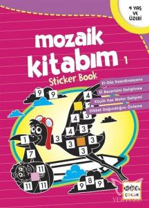 Mozaik Kitabım 1 Sticker Book