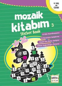 Mozaik Kitabım 3 Sticker Book