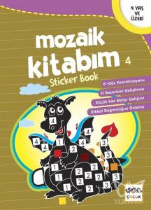Mozaik Kitabım 4 Sticker Book