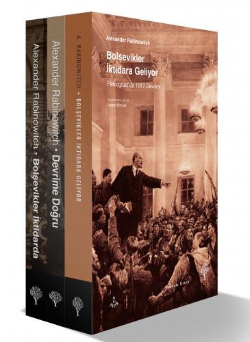 BOLŞEVİK DEVRİM SETİ (3 Kitap) Alexander RABINOWITCH