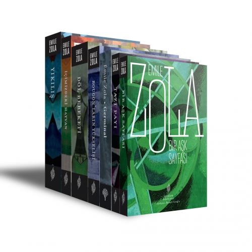 ZOLA SETİ (7 KİTAP) Emile ZOLA