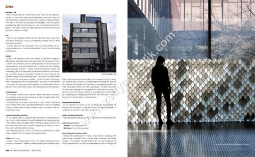 Architectural Material Brick & Tile Tuğla , Kaplama Kitabı